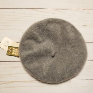 Juicy Couture Cashmere beret grey